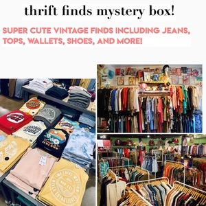 thrift finds mystery box!